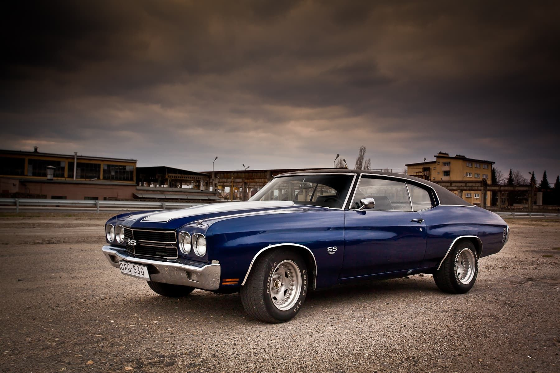 1970 Chevy Chevelle Ss Wallpaper