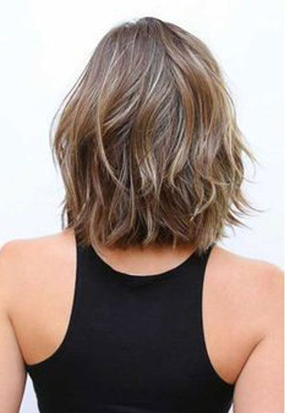 Shoulder-Length Haircuts To Show Your Hairstylist Now #shoulderlengthhair - color