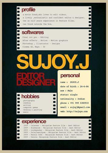 Resume Design - \