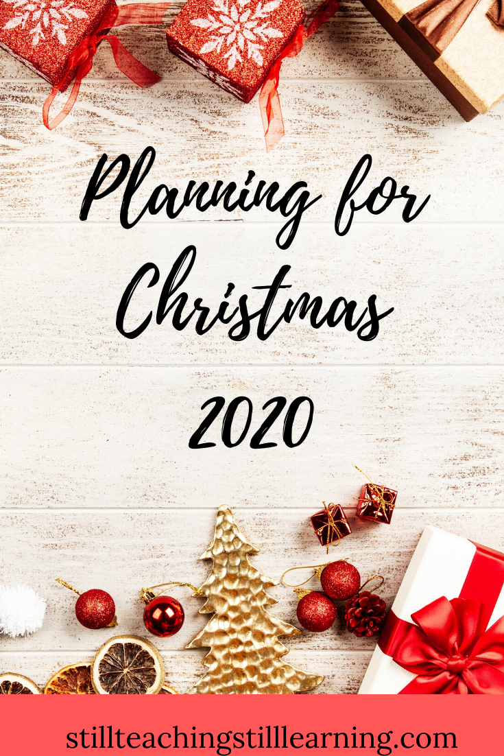 Planning For Christmas 2020 Christmas Planning How To Plan Holiday Planning