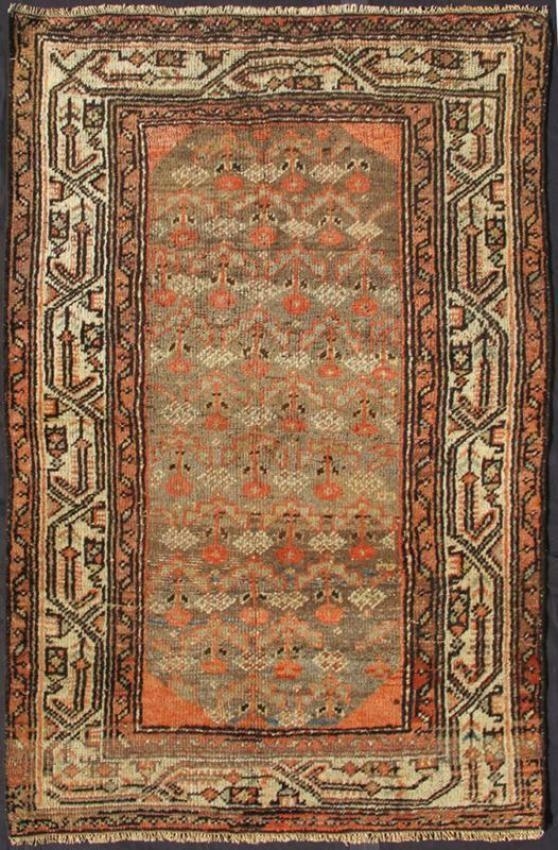 "KEIVAN WOVEN ARTS,   Type :Hamedan Origin :Iran  Size : 3'4""x4'10""  Circa :1920"