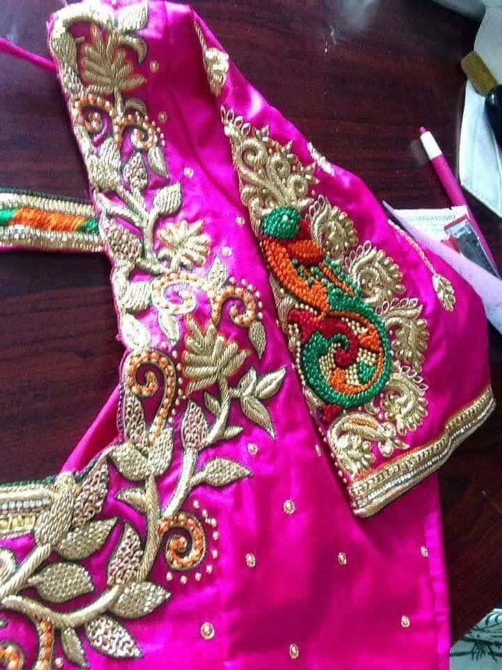 Pin de Nandini Gowda en blouse designs   Pinterest