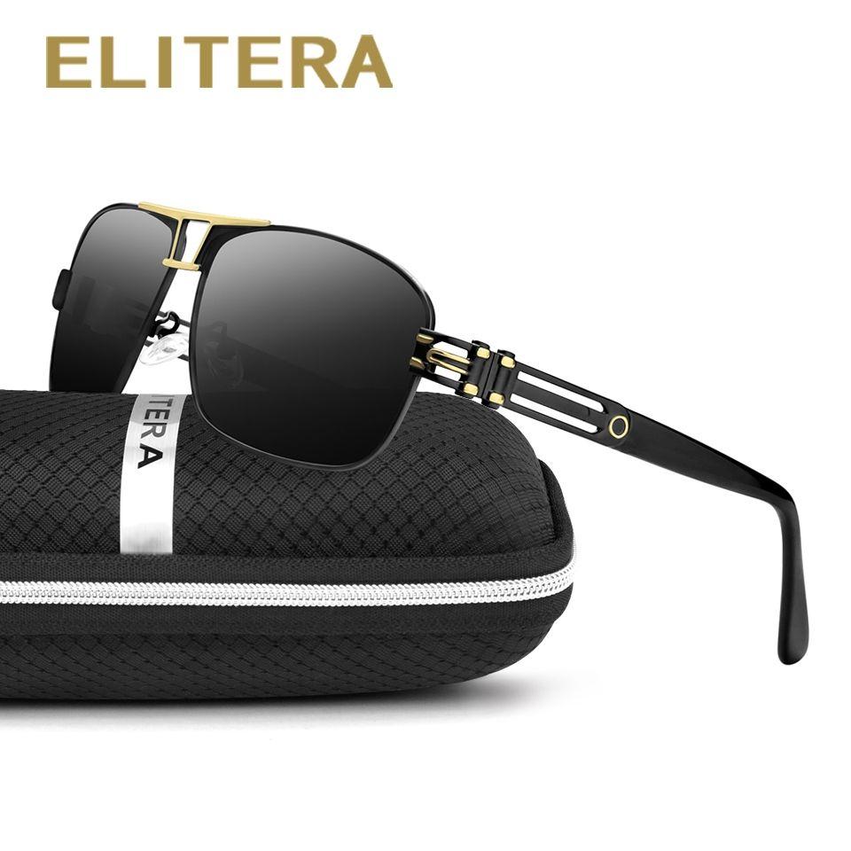 e640cd22d93 ELITERA 2017 Polarized Sunglasses Men Women Brand Designer Outdoor Sport Sun  Glasses UV400 Driving Fishing