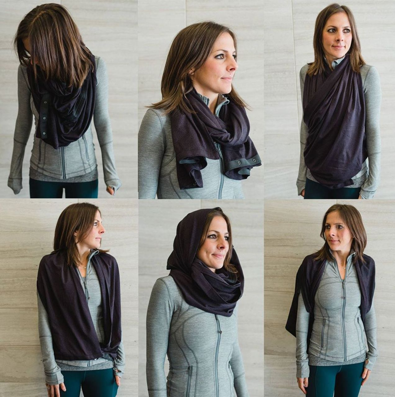 Vinyasa lululemon scarf how to wear video advise to wear for everyday in 2019