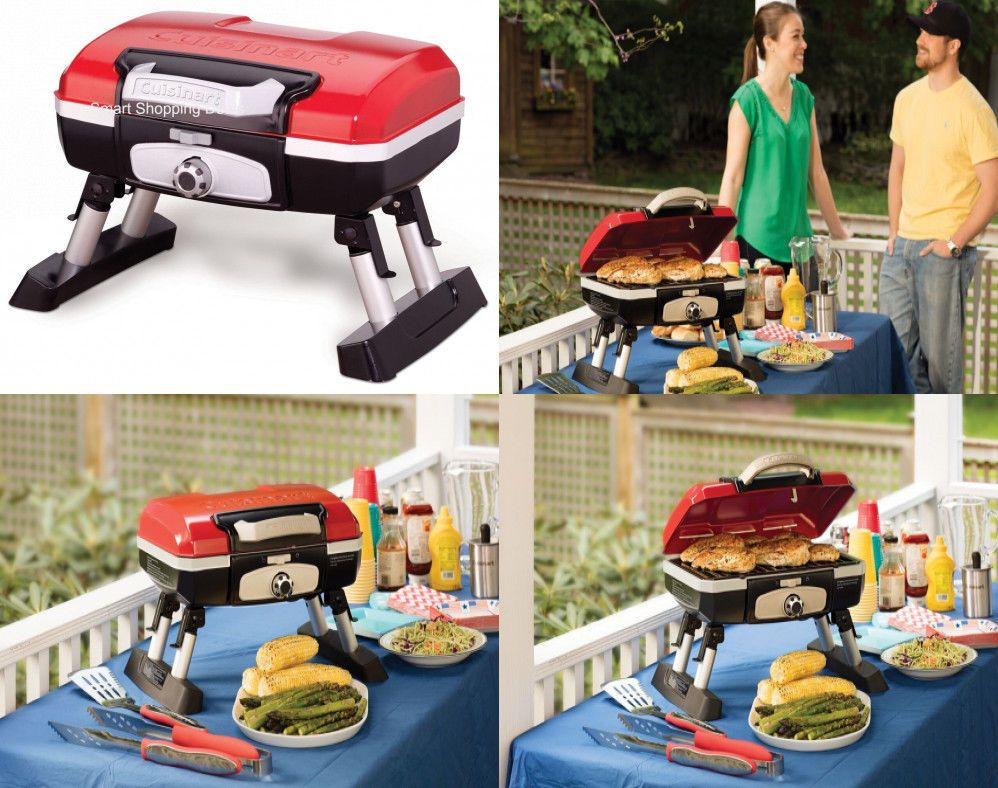 Portable Tabletop Gas Grill Garden Bbq Grills Outdoor Cooking
