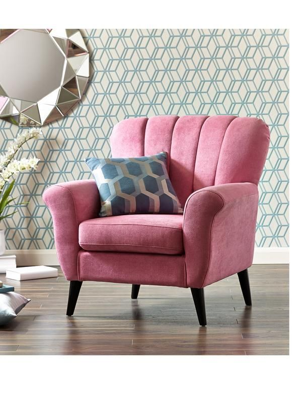 Superieur Representation Of How To Cheer The Interior With Pink Accent Chair
