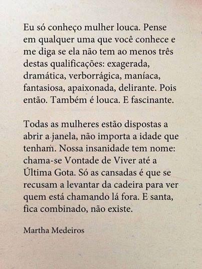 Doidas E Santas Martha Medeiros Eu Gosto De Português