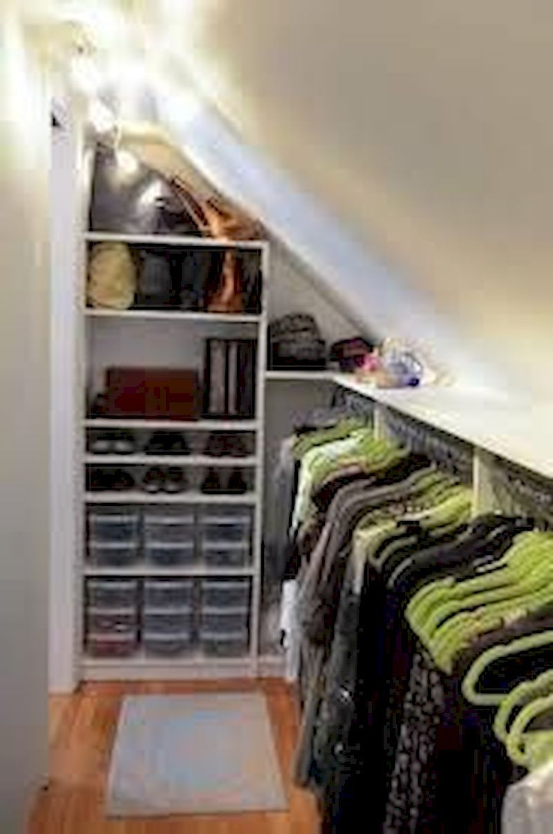 42 Genius Storage Ideas For Your Kid S Bedroom Dressing Sous Combles Faire Un Dressing Idee Dressing