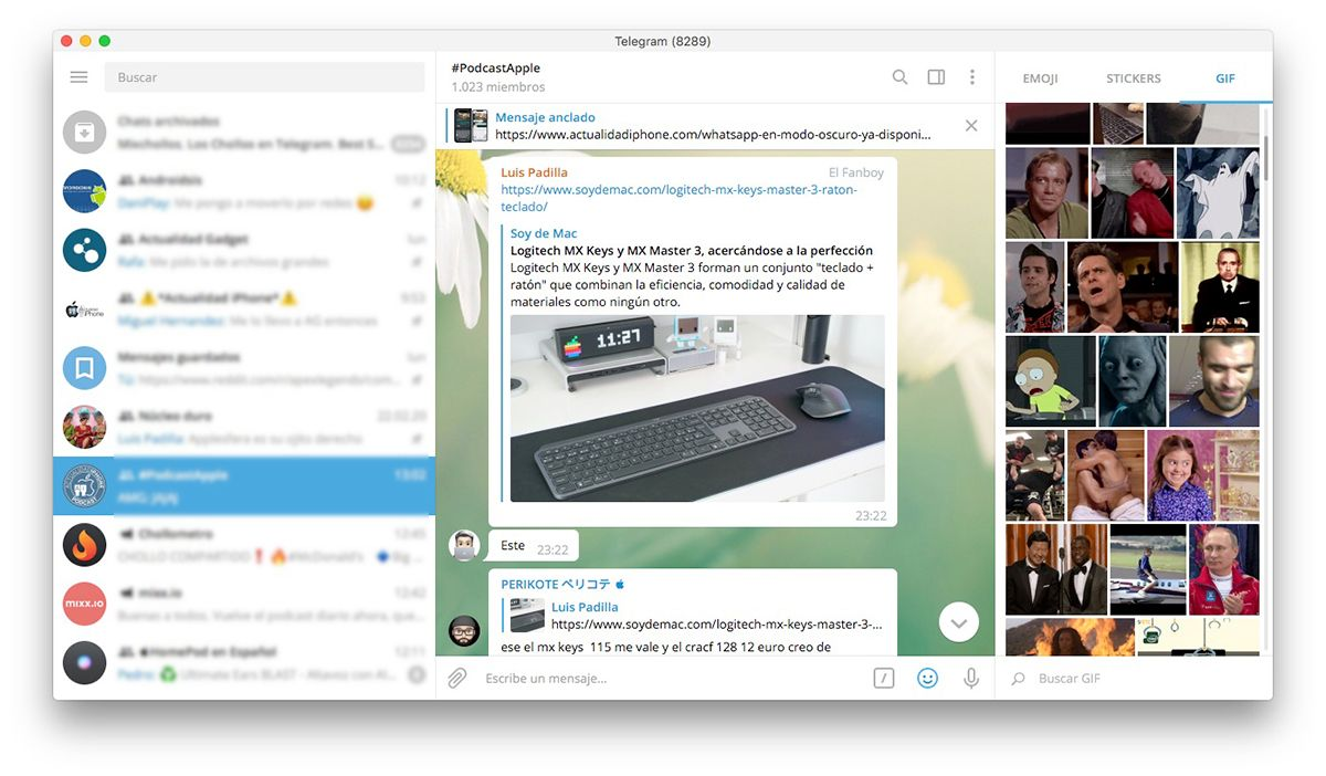 Pin en Mac App Store
