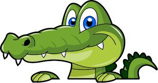krokodýl kresba - Hledat Googlem | Cartoon clip art, Alligators art, Funny  art