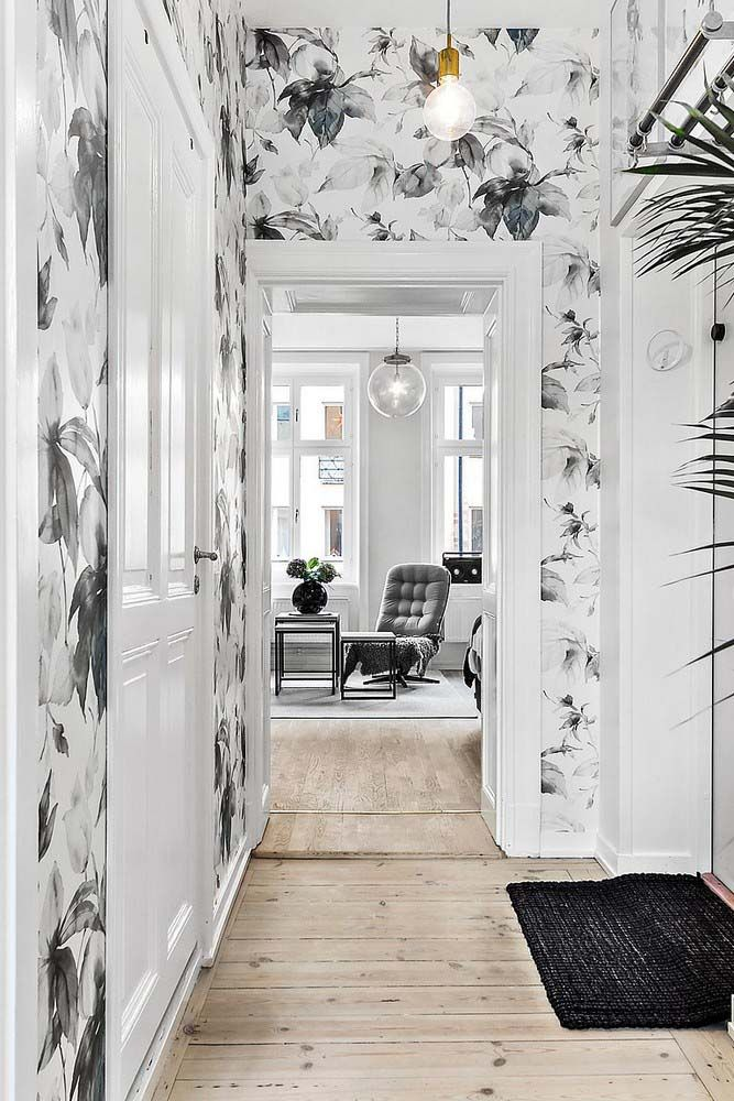 My Love Affair With Wallpaper All My Faves And Tips Tricks Hallway Wallpaper Home Interior Design Home