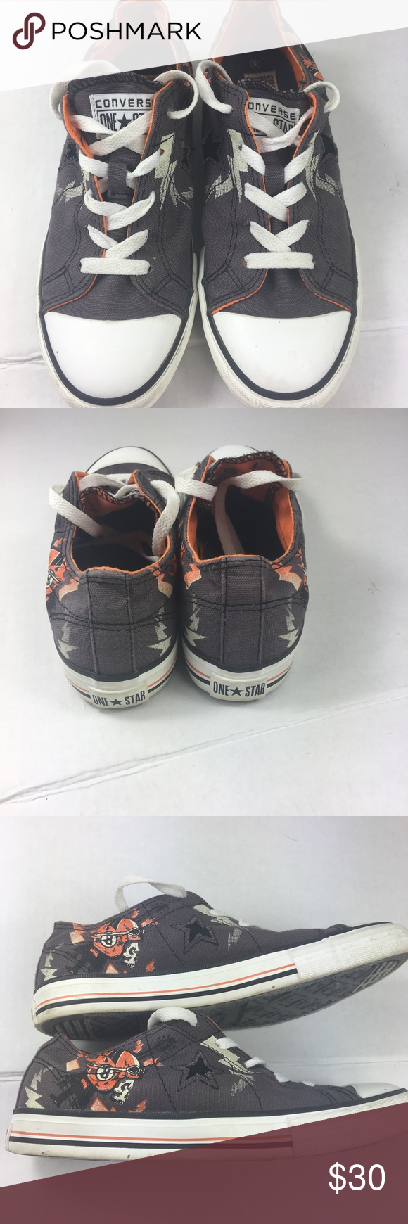 52c7c4203e96 Converse Youth Size 5 jr. Clevland Brown Sneakers Converse Youth Size 5 jr.  Clevland Brown Sneakers. Some dirt and wear as shown in photos. Converse  Shoes ...