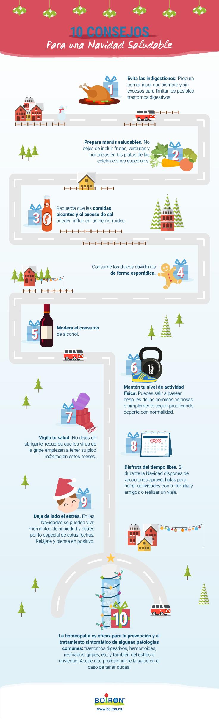 recomendaciones saludables para navidad