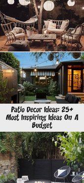Patio-Dekor-Ideen: 25 inspirierendste Ideen mit kleinem Budget  Dekor#designinterior #designinspo #designerwear #fashionkids #fashioninspo #hijabfashion #fashionbandung #fashionbombdaily #pakistanifashion #gardensofinstagram #gardenroute #gardenlove #gardentotable