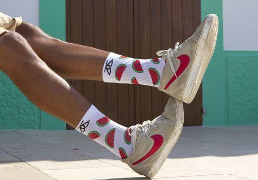 Nuevos Socks de Crude.