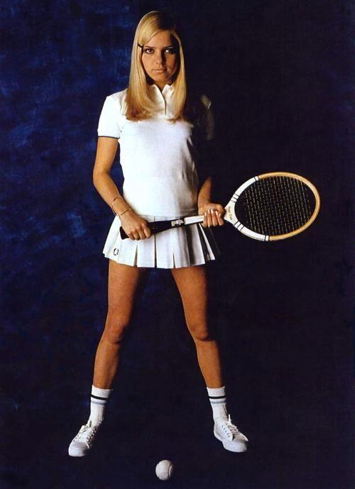 60 S Fashion Tennis Fashion 60s Fashion Tennis Clothes