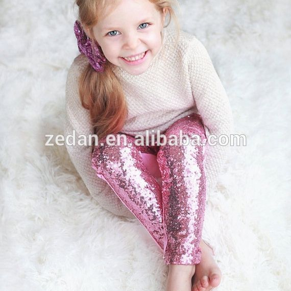 17b0810759 Little girls personalized red sequin pants Baby Girls glitter ...