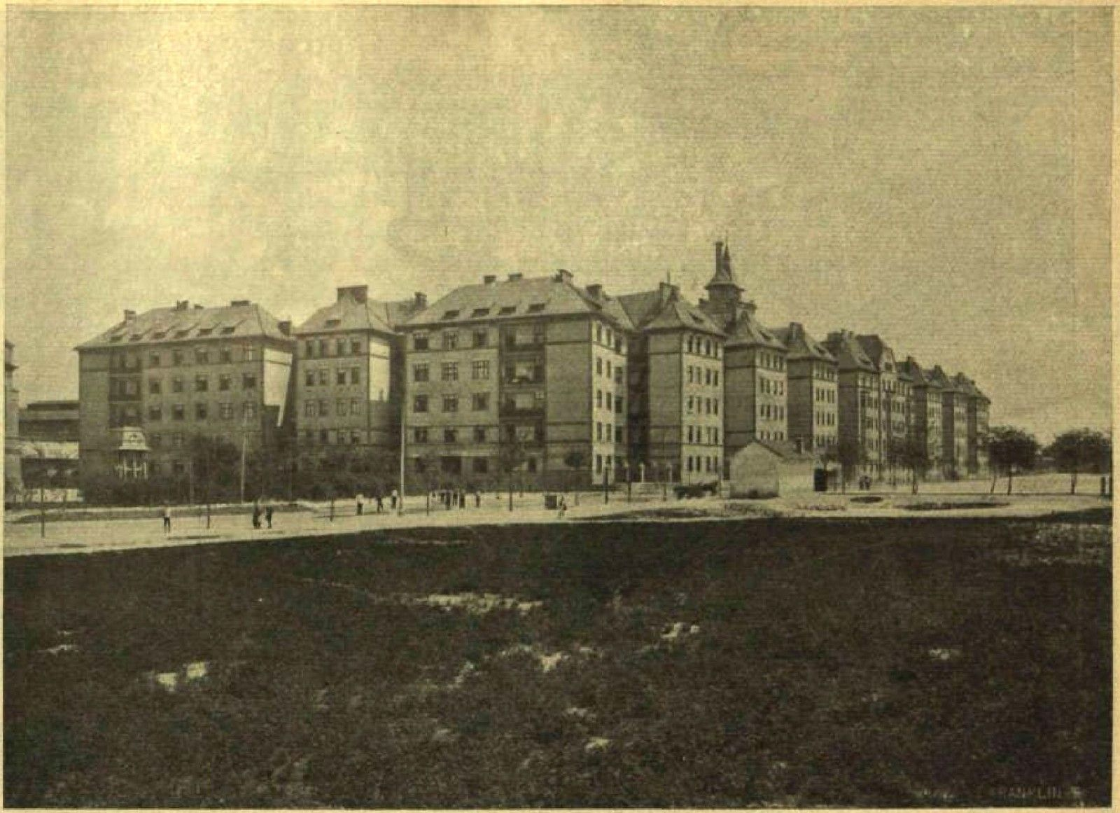 A Telep Tisztviseltelep Fell 1911 Ben