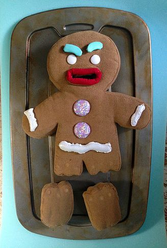 Gingy Puppet For Shrek The Musical Created For Stageworthy Arts By