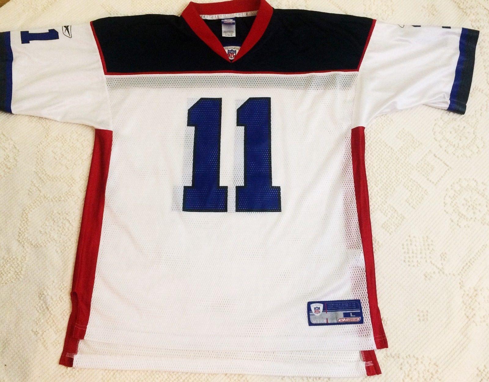 huge discount ced72 aece5 VINTAGE Large Drew Bledsoe Jersey New England Patriots ...