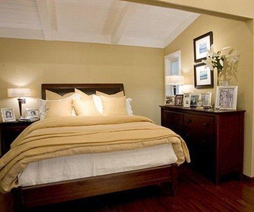 Colori per interni piccoli - Pareti beidge per camera da letto