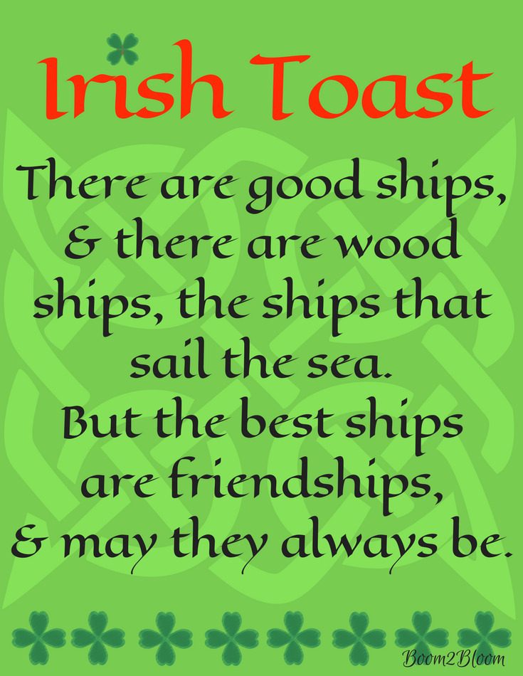 Irish Quotes Stunning Ireland Blessings Proverbs Quotes & Toasts  Irish Toasts