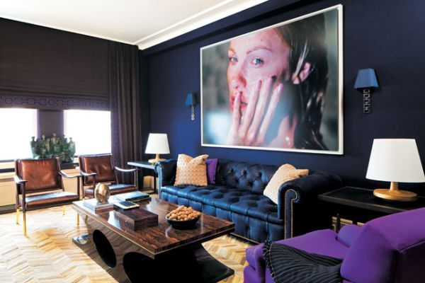 5 Rooms To Create With Navy Blue Walls Great Pictures