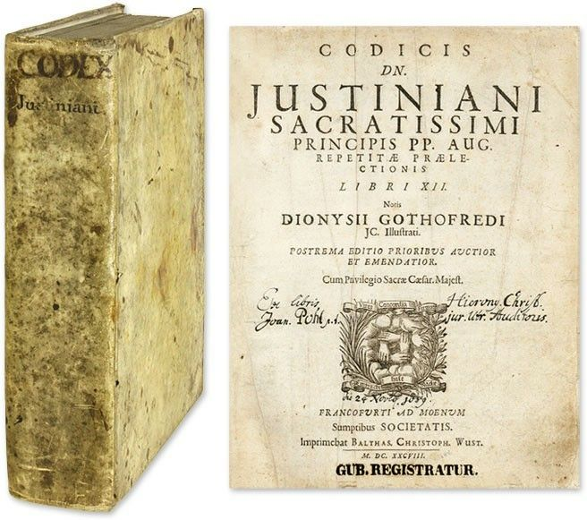 Justinian S Code Collection Of Roman Laws Organized By The Byzantine Emperor Justinian And Later Serving As A Model For T Roman Law Early Middle Ages Medieval