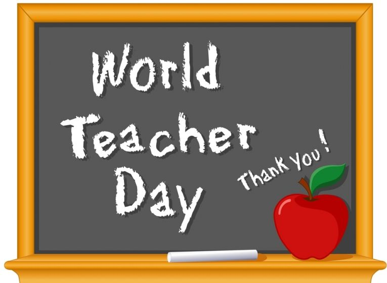 World Teachers Day Is A Day To Recognize The Importance Of Teachers Who Play A Vital Role In Creating The World Teacher Day World Teachers Happy Teachers Day