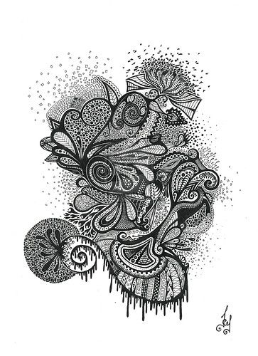 Beautiful Pen And Ink Design