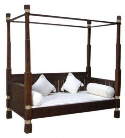 Teak Poster beds | Dimond Daybed | Daybed rattan | Said Day Bed ...
