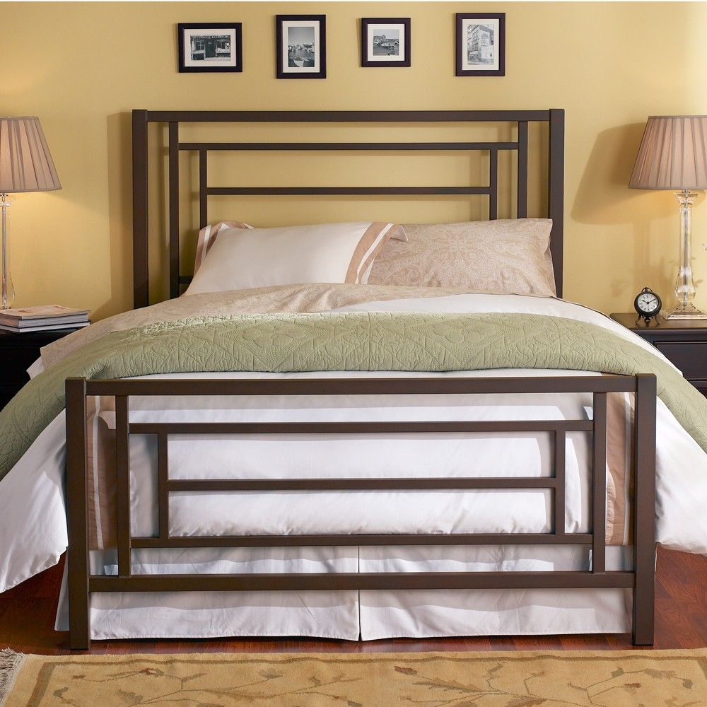Sunset Iron Trundle Bed by Wesley Allen Natural Rust