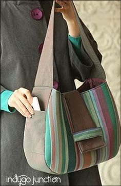 New Pattern: The Side Note Satchel
