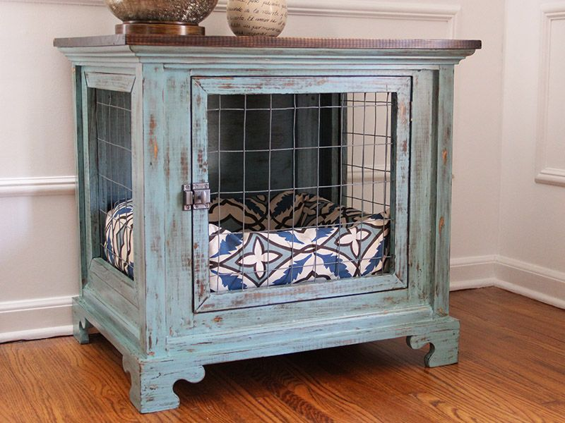 Dog Kennel Nightstands - Charlotte 1 | Pets | Pinterest ...