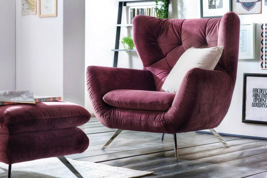 Gemütliche sessel  Gemütlicher Kuschel-Sessel fürs #Schlafzimmer | Schlafzimmer ...