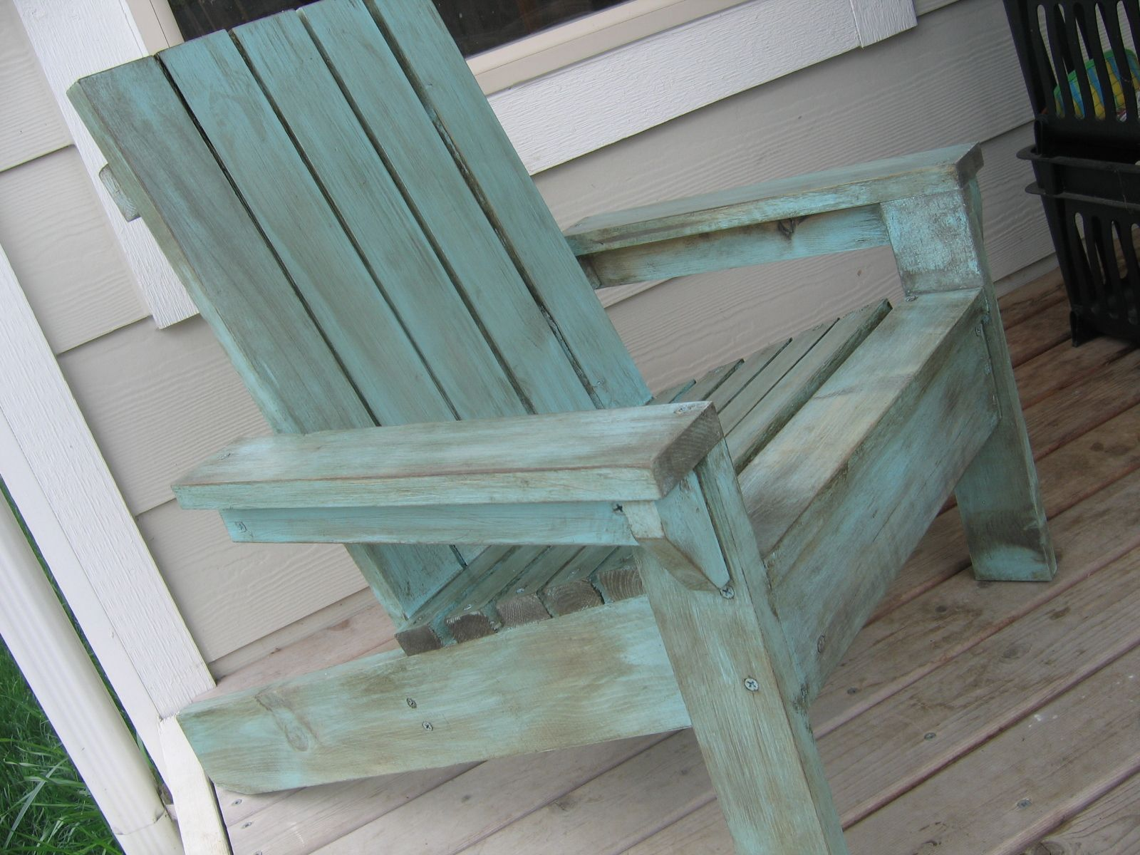 Painted Vs Stained Adirondack Chairs | Bubbau0027s Modified Little Adirondack  Chair