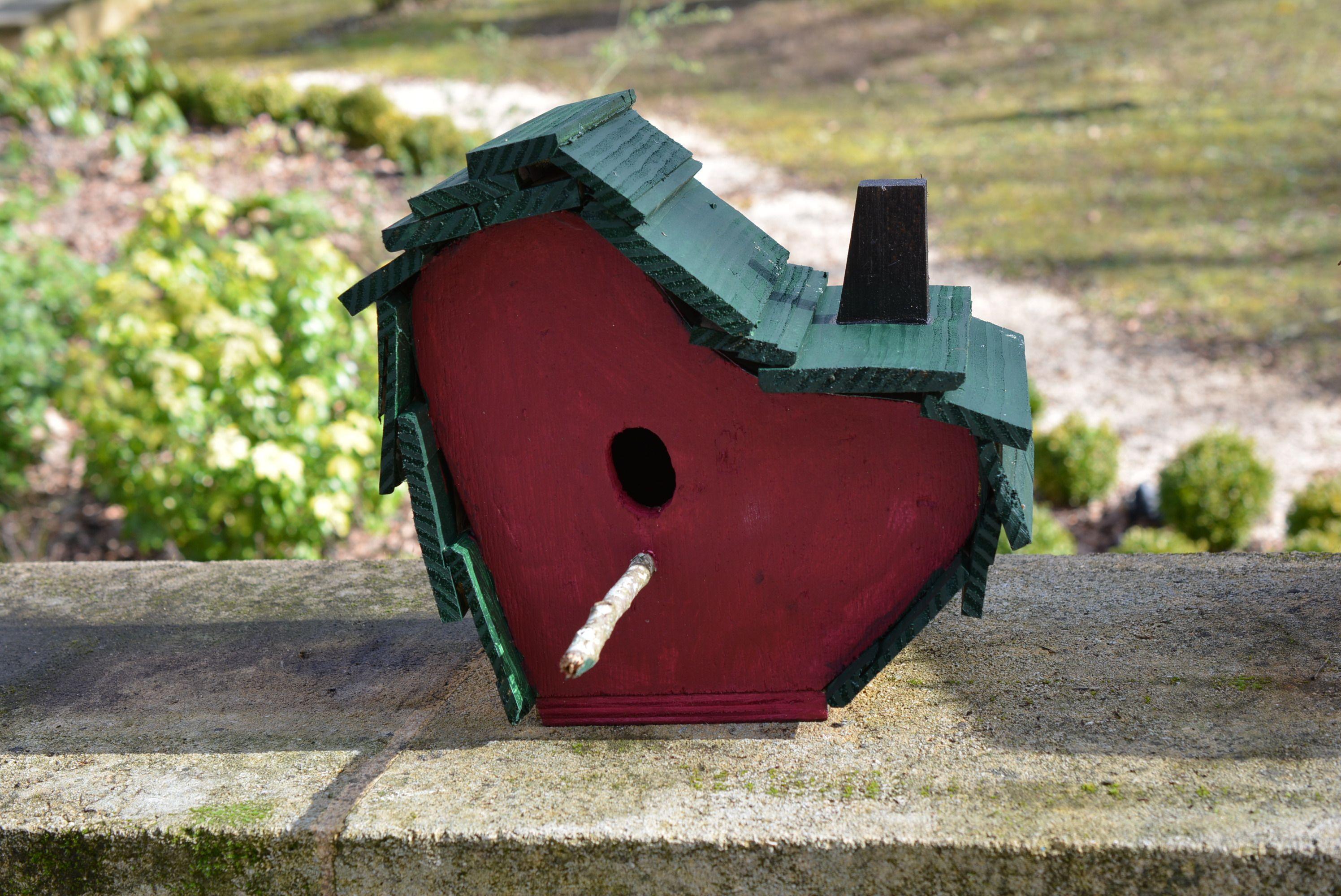 Birdhouses. Handmade By Cor van de Velde Petite Maison Daglan