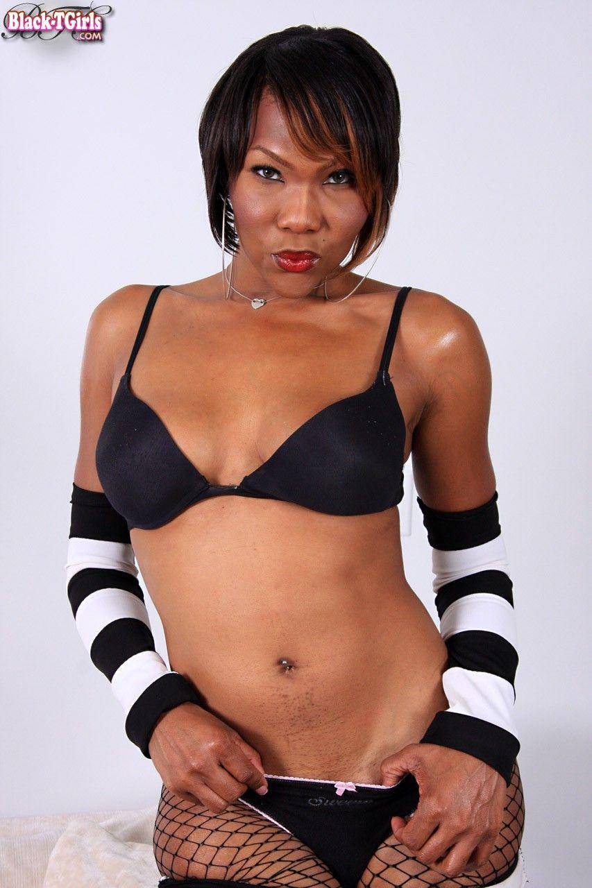Ebony lesbian pantyhose tube busty
