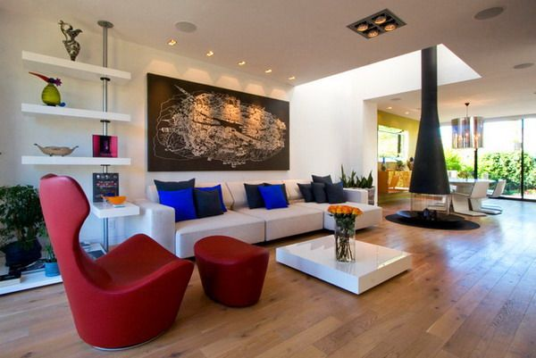 Modern Living Room Accent Chairs funky living rooms, modern and chairs on pinterest