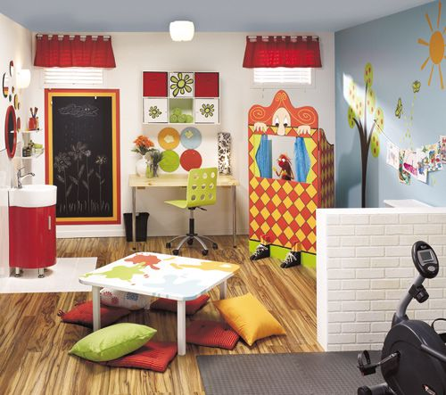 Kids Basement, Playroom