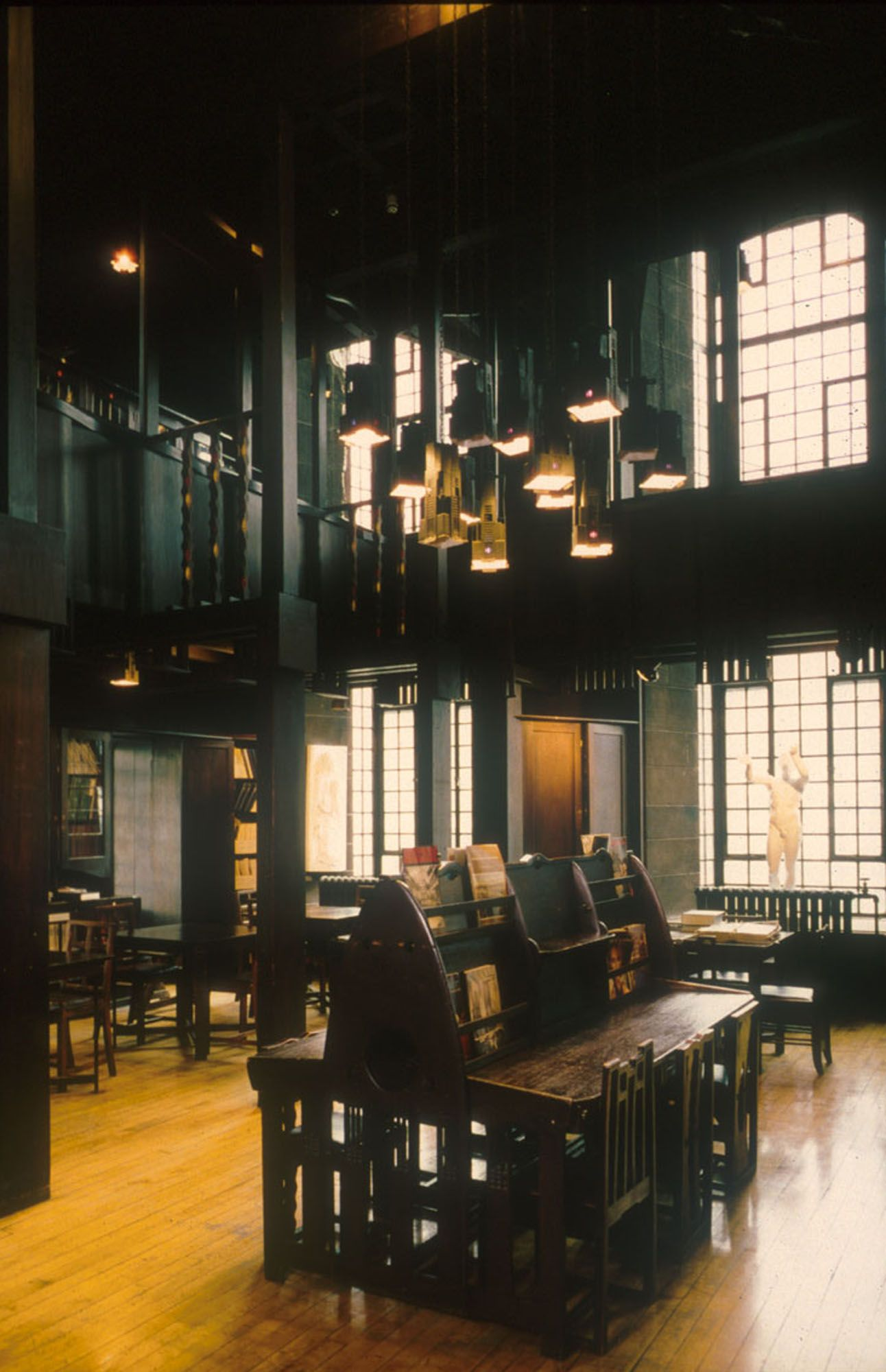 Glasgow School Of Art, The Library Room