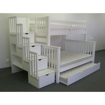 Found it at Wayfair - Twin over Full Bunk Bed with Trundle