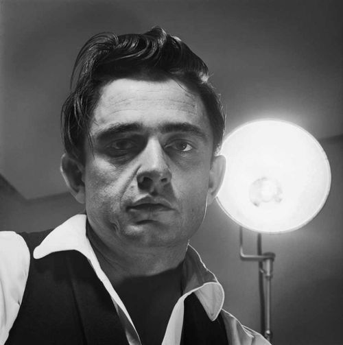 """""""I'd like to wear a rainbow every day, and tell the world that everything is okay. But I'll try to carry off a little darkness on my back. Until things are brighter, I'm the Man in Black""""    Johnny Cash (1932 - 2003)"""