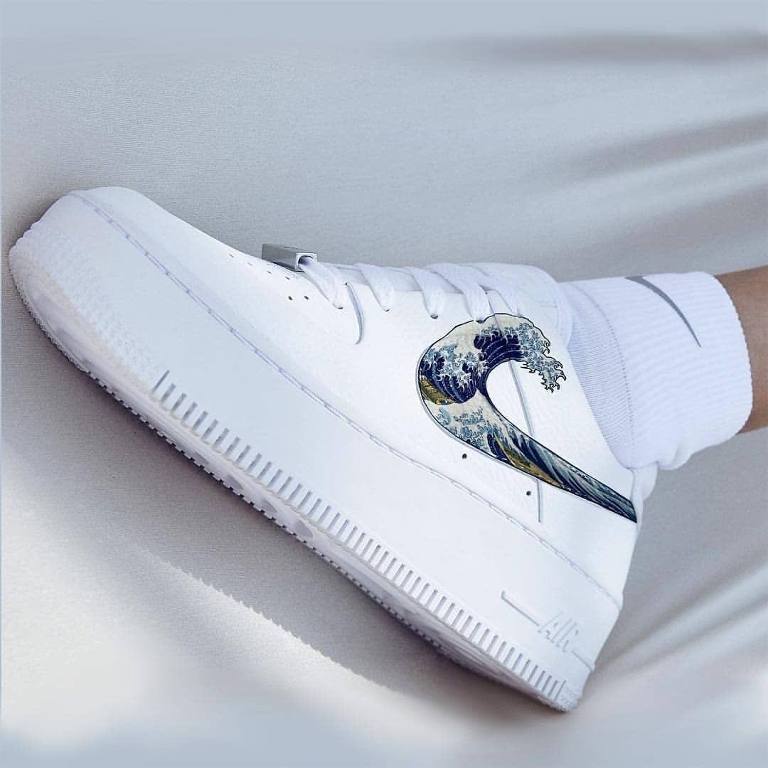 Custom sneakers Nike Air Force 1 Nipsey Hussle in 2020