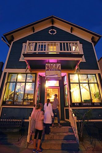 A 100 Year Old House Turned Into The Mocha Monkey Coffee Shop Located On 115 S Olive St Waconia Mn 55387 Coffee House Cafe Monkey Coffee Places