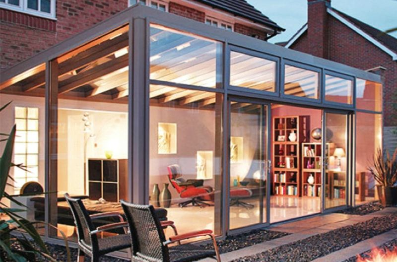 Véranda bioclimatique, isolation, motorisation  tout savoir sur la - Combien Coute Une Extension De Maison