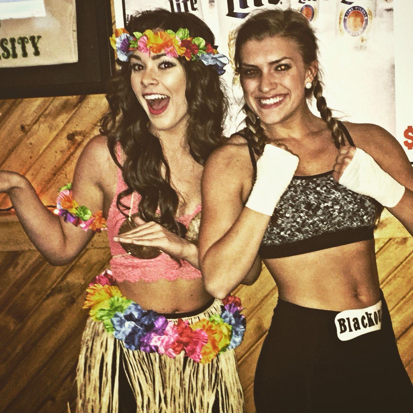 DIY costume idea, pun! Hawaiian Punch | Halloween | Pinterest