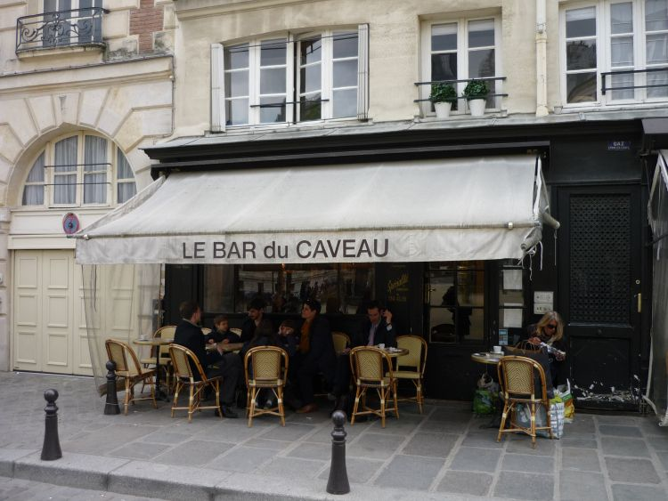 A Bar in a quiet area of #Paris #France