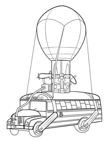Fortnite Battle Bus Coloring Page Free Printable Coloring Pages Free Printable Coloring Pages Free Printable Coloring Coloring Pages