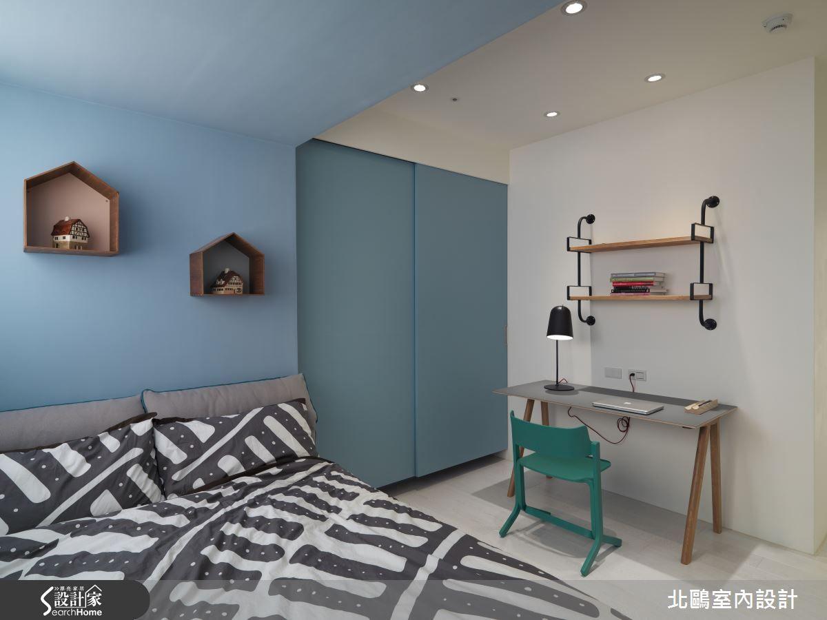 北歐風的裝潢圖片為北鷗室內設計的設計作品,該設計案例是一間新成屋(5年以下)總坪數為33,格局為四房,更多北鷗室內設計設計案例作品都在設計家 Searchome